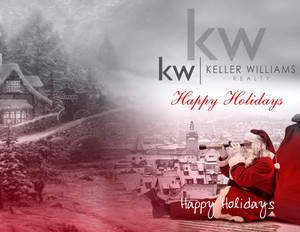 Button to customize design Keller Williams Holiday Greeting Cards Portrait Template: 578237