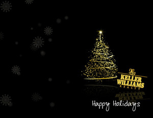 Button to customize design Keller Williams Holiday Greeting Cards Portrait Template: 370104
