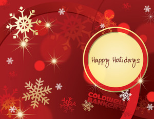 Coldwell Banker Holiday Greeting Cards Portrait Template: 517453
