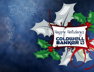 Button to customize design Coldwell Banker Holiday Greeting Cards Portrait Template: 517457