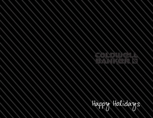 Button to customize design Coldwell Banker Holiday Greeting Cards Portrait Template: 370247