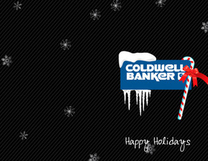 Button to customize design Coldwell Banker Holiday Greeting Cards Portrait Template: 517439