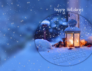 Coldwell Banker Holiday Greeting Cards Portrait Template: 517445