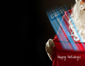 Button to customize design Coldwell Banker Holiday Greeting Cards Portrait Template: 370036