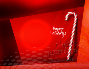 Charles Rutherberg Holiday Greeting Cards Portrait Template: 519055