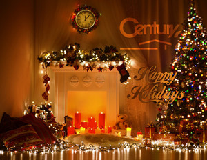 Button to customize design Century 21 Holiday Greeting Cards Portrait Template: 579193