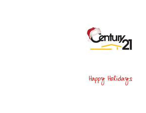 Century 21 Holiday Greeting Cards Portrait Template: 370019