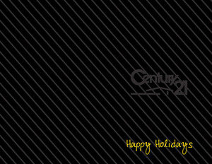 Century 21 Holiday Greeting Cards Portrait Template: 370246