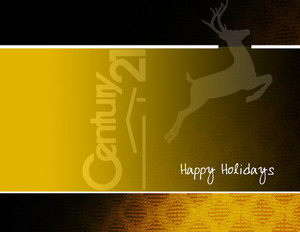 Century 21 Holiday Greeting Cards Portrait Template: 517419