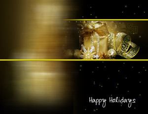 Century 21 Holiday Greeting Cards Portrait Template: 517429