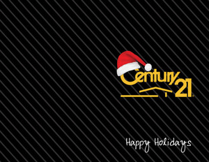 Century 21 Holiday Greeting Cards Portrait Template: 518605