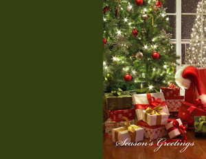 Presents Greeting Cards Portrait Template: 356998