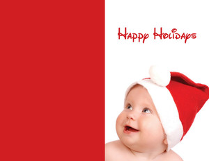 People Greeting Cards Portrait Template: 324007