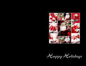 People Greeting Cards Portrait Template: 324452