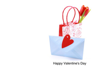 Valentine's Greeting Cards Portrait Template: 333745