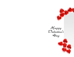 Valentine's Greeting Cards Portrait Template: 333746