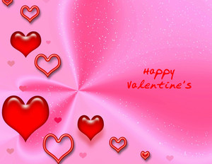Valentine's Greeting Cards Portrait Template: 333732