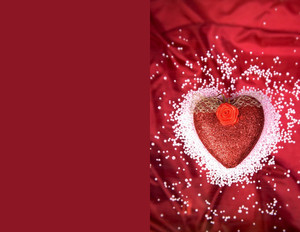 Valentine's Greeting Cards Portrait Template: 333733