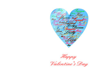 Valentine's Greeting Cards Portrait Template: 333714