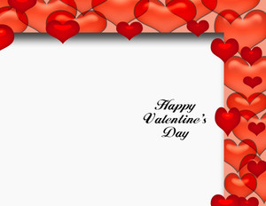 Valentine's Greeting Cards Portrait Template: 333716