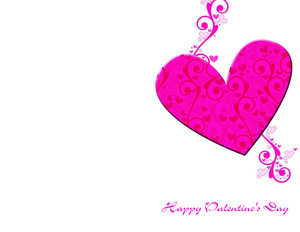Valentine's Greeting Cards Portrait Template: 333722