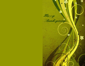 Thanksgiving Greeting Cards Portrait Template: 333689