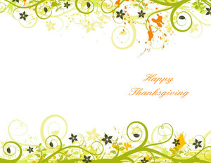 Thanksgiving Greeting Cards Portrait Template: 333691