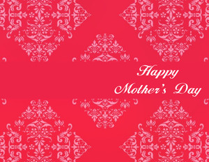 Mother's Day Greeting Cards Portrait Template: 333137