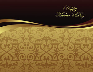 Mother's Day Greeting Cards Portrait Template: 333461