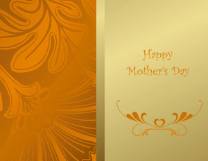 Mother's Day Greeting Cards Portrait Template: 333465