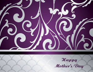 Mother's Day Greeting Cards Portrait Template: 333460