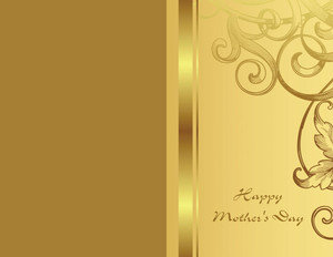 Mother's Day Greeting Cards Portrait Template: 333462