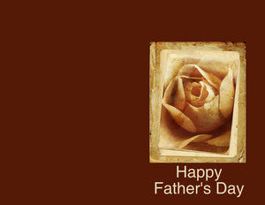 Father's Day Greeting Cards Portrait Template: 333637
