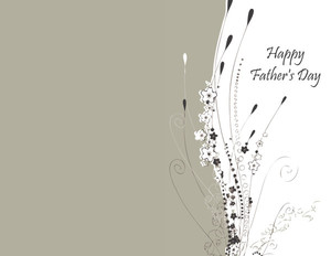 Father's Day Greeting Cards Portrait Template: 333640