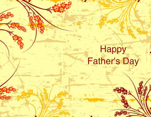 Father's Day Greeting Cards Portrait Template: 333629