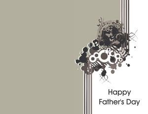 Button to customize design Father's Day Greeting Cards Portrait Template: 333632