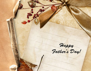 Father's Day Greeting Cards Portrait Template: 333633