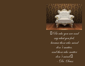 Button to customize design Living room Greeting Cards Portrait Template: 327982