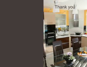 Button to customize design Kitchens Greeting Cards Portrait Template: 320729