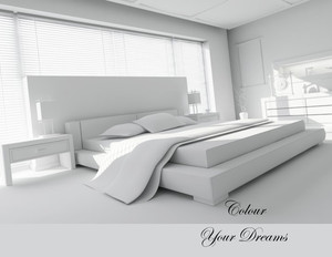 Bedrooms Greeting Cards Portrait Template: 327838