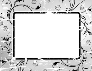 Button to customize design Patterns-Borders Greeting Cards Portrait Template: 333171