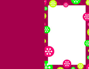 Button to customize design Patterns-Borders Greeting Cards Portrait Template: 333176