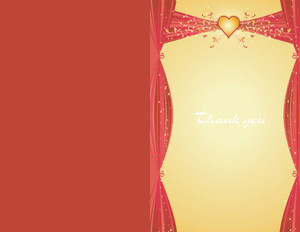 Button to customize design Elegant Greeting Cards Portrait Template: 344531