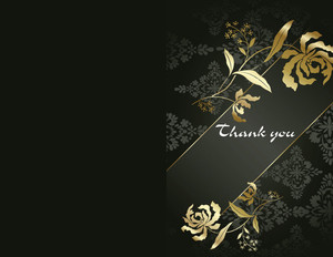 Button to customize design Elegant Greeting Cards Portrait Template: 344533