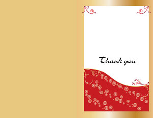 Button to customize design Elegant Greeting Cards Portrait Template: 344539