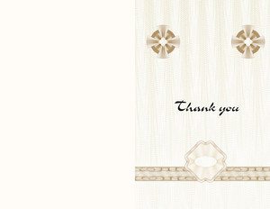 Button to customize design Elegant Greeting Cards Portrait Template: 344518