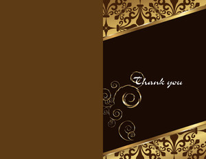 Button to customize design Elegant Greeting Cards Portrait Template: 344525