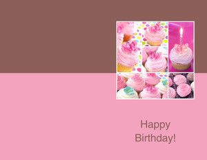 Greeting/ Adult Greeting Cards Portrait Template: 348303