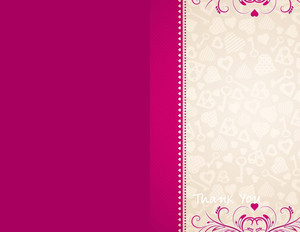 Button to customize design Lines/Curves Greeting Cards Portrait Template: 329053