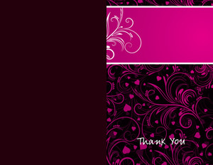 Button to customize design Floral Greeting Cards Portrait Template: 329044
